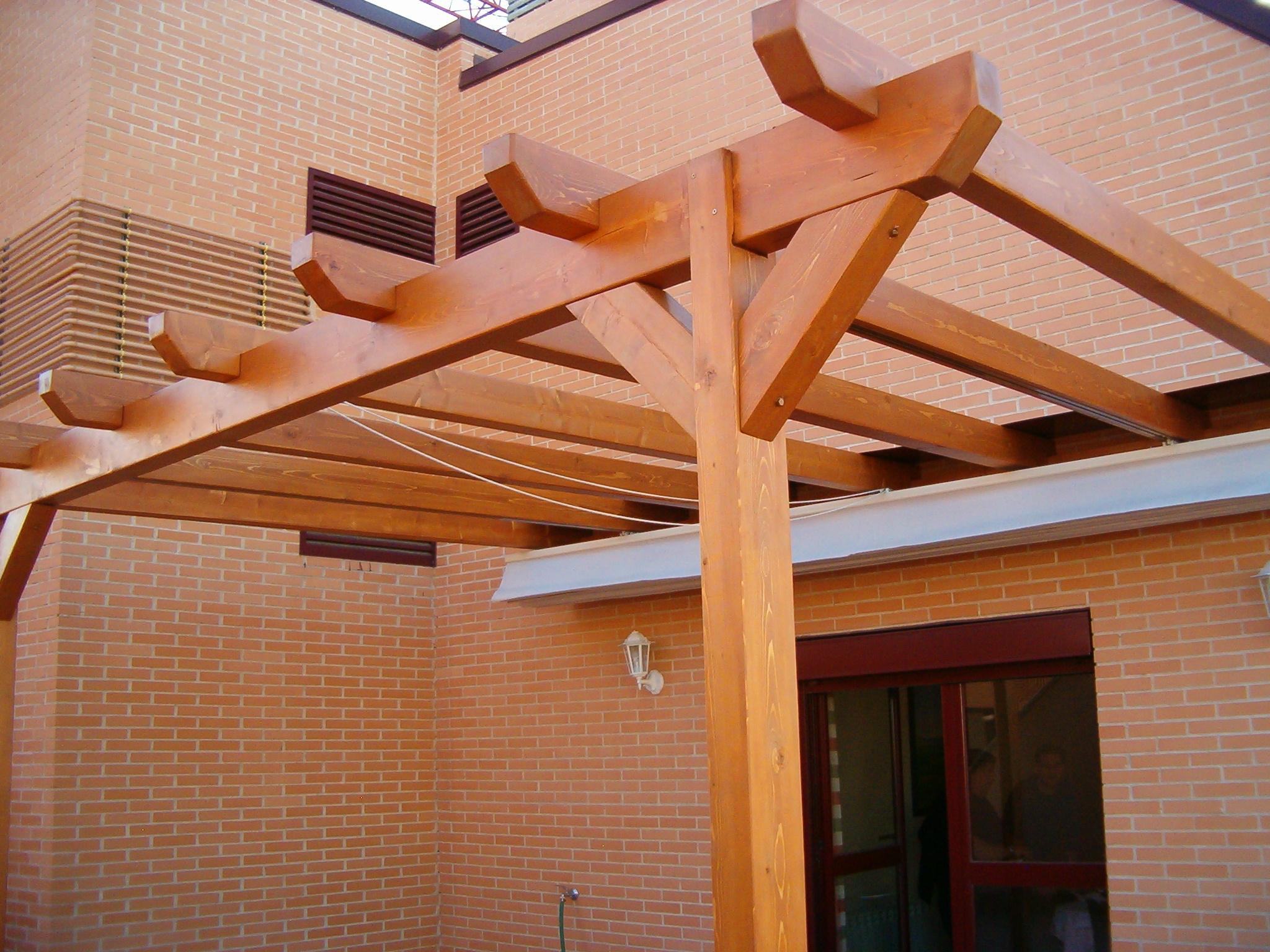 Pérgolas de madera