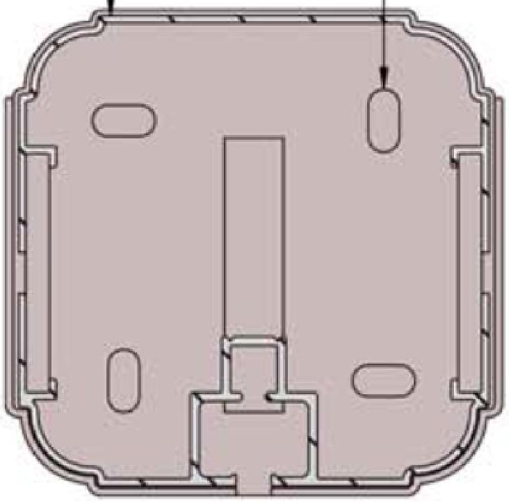 Tapa para de perfil de aluminio 120 x 120