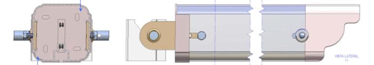 Mecanismo para automatizar pérgola perfil 120 x120
